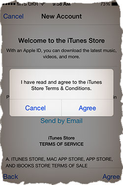 Apple ID Terms and Conditions