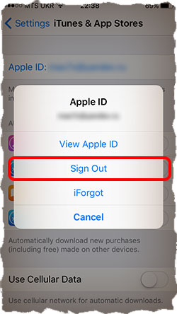 Using Apple ID with App Store