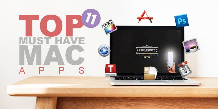 TOP 11 must have MAC apps for your new MacBook