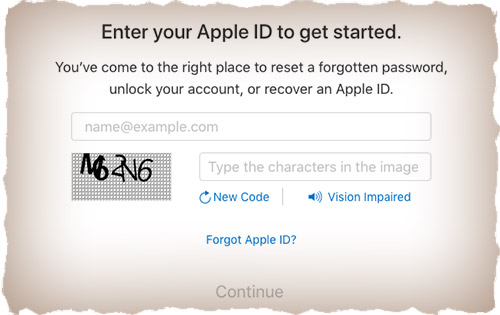 Get your Apple account back