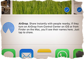 Problems with AirDrop