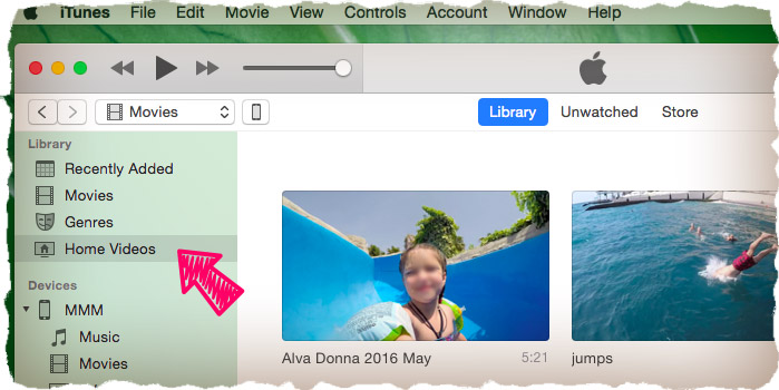 iTunes transfer files to iPhone