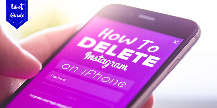 How to delete Instagram on iPhone