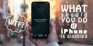 """Understanding """"iPhone is disabled - try again in 15 minutes"""" [FIX]"""