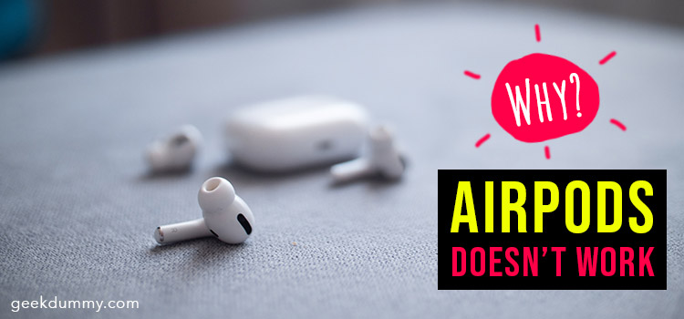 AirPods Pro doesn't work